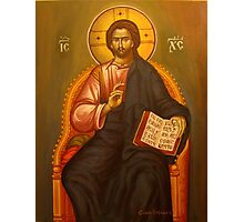Jesus Christ Photographic Print