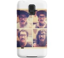 Pierce The Veil with Mustaches! Samsung Galaxy Case/Skin