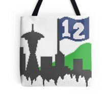 12th Man Skyline Tote Bag