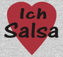 Ich Liebe Salsa - T-Shirt & Top by deanworld