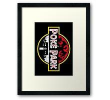 Poke Park Distressed Framed Print