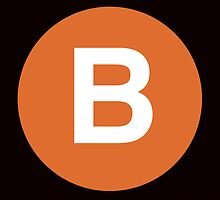 B Train Placard by axemangraphics