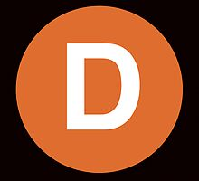 D Train Placard by axemangraphics