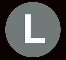 L Train Placard by axemangraphics