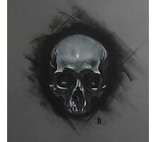 Skull study from life Photographic Print