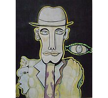 The man in the Bowler Hat Photographic Print