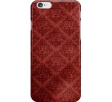 Vintage Patterned Wallpaper 05 iPhone Case/Skin