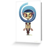 Your Cute Little Domestic Robot Greeting Card