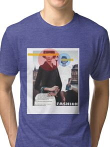 Fashion Collage Tri-blend T-Shirt