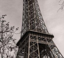 Magnificent Monochrome Eiffel Tower Sticker