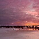 Shorncliffe Sunrise - Qld Australia by Beth  Wode