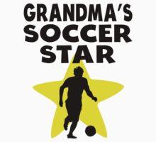 Grandma's Soccer Star Baby Tee