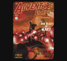 Pulp Adventure Stories: The Iron Beasts of Mars! T-Shirt