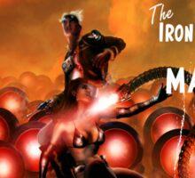 Pulp Adventure Stories: The Iron Beasts of Mars! Sticker