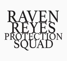 raven reyes protection squad  Kids Tee