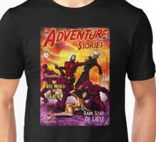 Pulp Adventure Stories: The Red World of Death! Unisex T-Shirt