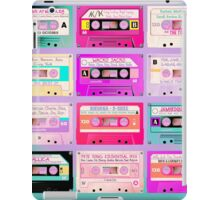 casettes retro iPad Case/Skin