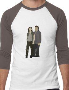 Tara and Eugene Men's Baseball ¾ T-Shirt