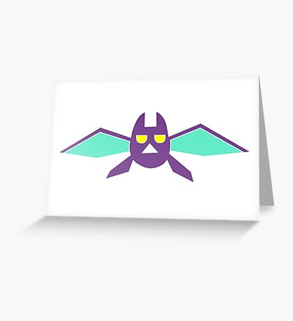 Crobat Pokemon  Greeting Card