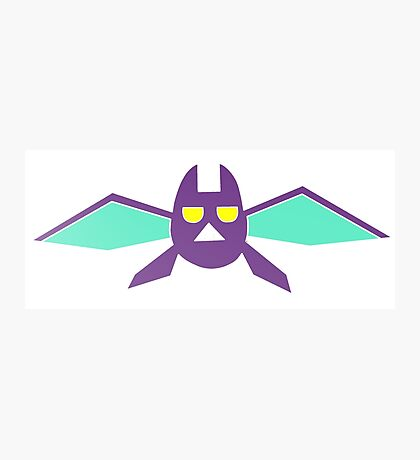 Crobat Pokemon  Photographic Print