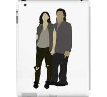 Tara and Eugene iPad Case/Skin