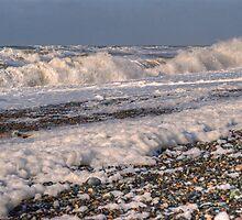The Cumbrian Coast - The Cappucino Sea by Jamie  Green