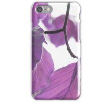 Leaves 6 iPhone Case/Skin