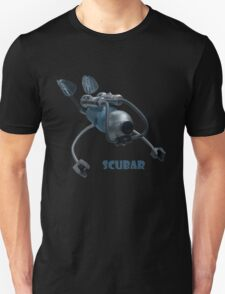 Scubar - Self Contained Underwater Breathing Apparatus Robot Unisex T-Shirt