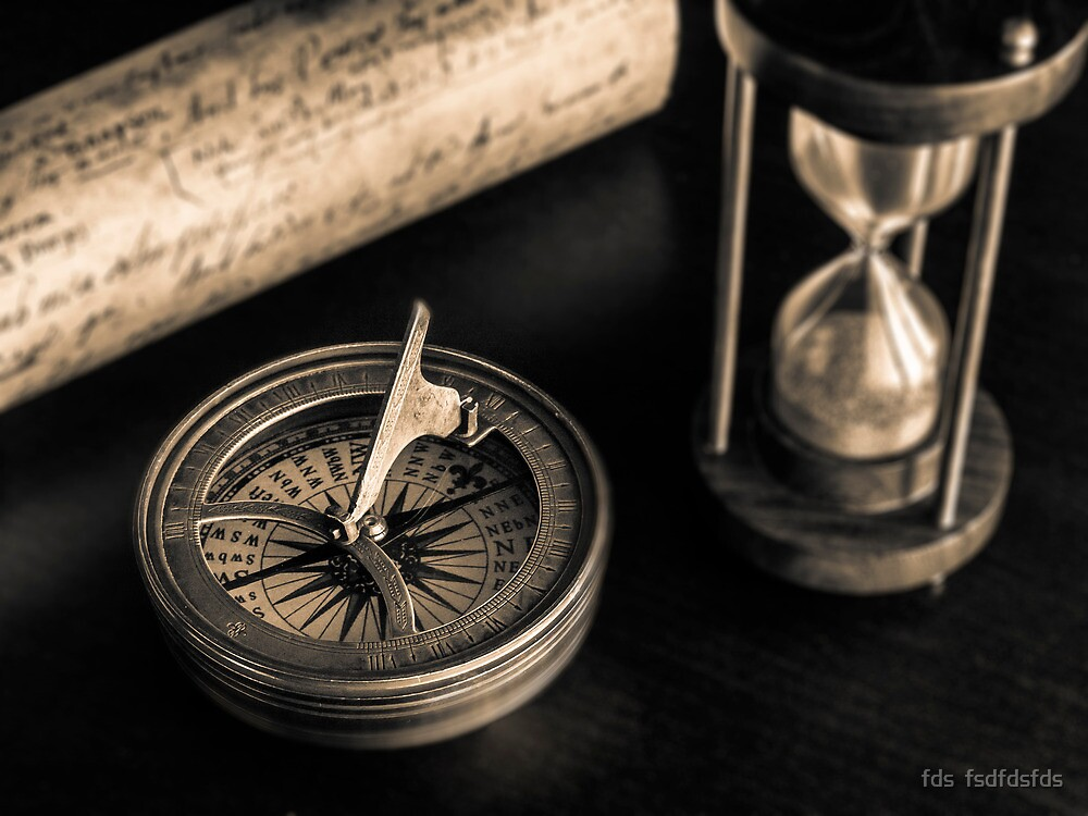 Compass and other relics II  by DavidCucalon