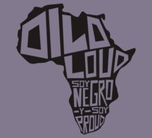 DILO LOUD: Africa Kids Tee
