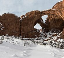Frosted Double Arch by Mike Herdering