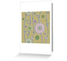 Simple Pattern Greeting Card
