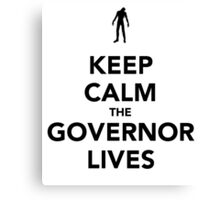 The Governor lives Canvas Print