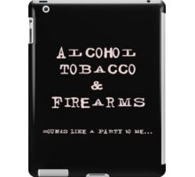 ATF Humorous Design #1 iPad Case/Skin