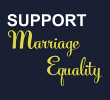 Support Marriage Equality One Piece - Short Sleeve
