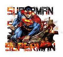 Superman by Mauw
