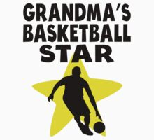 Grandma's Basketball Star One Piece - Short Sleeve
