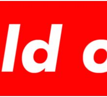 "Supreme ""Sold out"" Sticker"