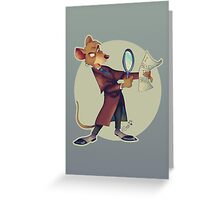 I believe in Basil!! Greeting Card