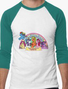 Vintage friendship is magic. Men's Baseball ¾ T-Shirt