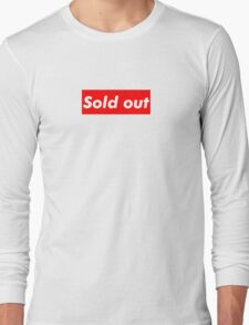 "Supreme ""Sold out"" Long Sleeve T-Shirt"