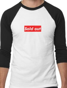 "Supreme ""Sold out"" Men's Baseball ¾ T-Shirt"