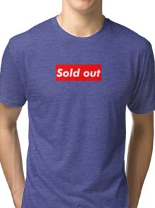"""Supreme """"Sold out"""" Tri-blend T-Shirt"""