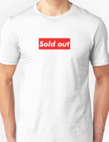 """Supreme """"Sold out"""" T-Shirt"""