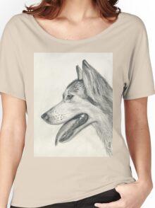 Sobaka Husky Women's Relaxed Fit T-Shirt