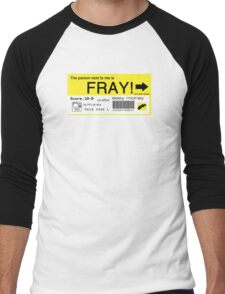 FRAY! Tag Men's Baseball ¾ T-Shirt