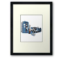 What's Up Doc ? (Choose your doc) Framed Print