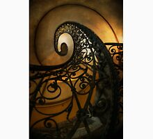 Spiral staircase with ornamented handrail Classic T-Shirt