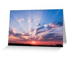 Abilene, Kansas Sunrise Greeting Card
