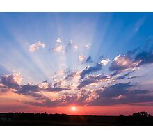 Abilene, Kansas Sunrise Photographic Print